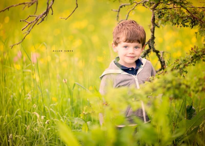 Children's outdoor photographeAllan James Wales Cardiff Bridgend