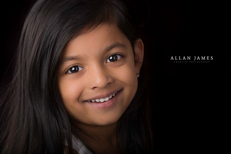 children-portrait-girl-studio headshot-bridgend-porthcawl-photographer